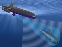 ACTUV will be equipped with multiple sensors enabling the high probability of detection and persistent tracking of any type of submarine, even the ultra-quiet diesel-electric subs.