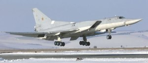 Tu-22M3 Backfire C bombers are currently supporting the Russian Navy with long range maritime strike capability.