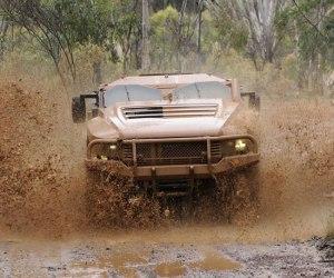 Gator faced Hawkei undergoing trials in Australia. Photo: Australian Defence