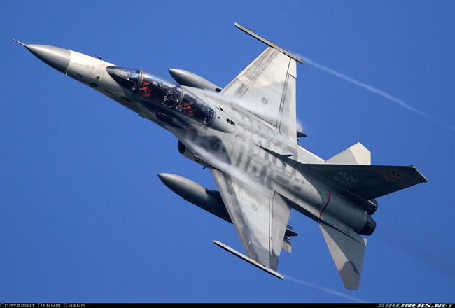 Taiwan is planning to complete the first phase of the modernization of the FC-K1 Indiegous Defence Fighter by year's end. A two-seat derivative is also used for lead-in training for fighter pilots. Photo: Dennis Chang
