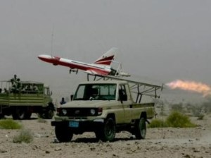 Iran is producing the Hazem drone, capable of recce, cargo delivery and attack missions.