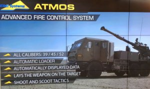 Elbit Systems ATMOS gun provides an autonomous, highly manoeuvrable and advanced artillery system