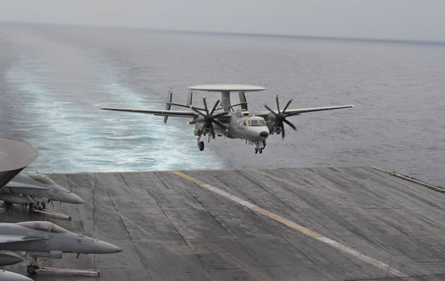 E-2D Advanced Hawkeye. Photo: Northrop Grumman