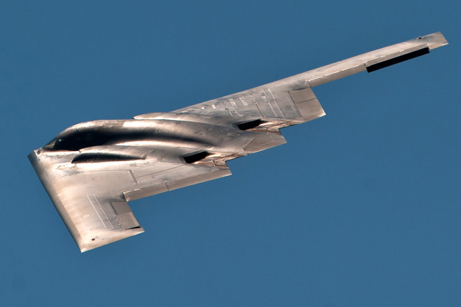 Northrop Grumman B-2B 'Spirit' stealth bomber operational with the US Air Force Strategic Command. Photo: US Air Force