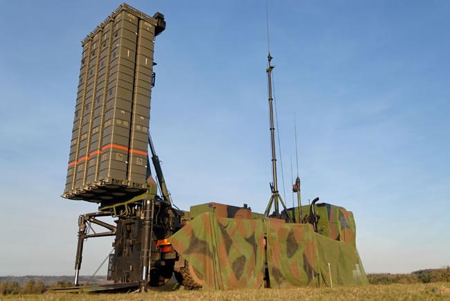 Each SAMP / T launcher has eight Aster 30 interceptors. Photo: MBDA