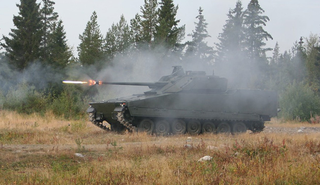 The Danish Army is already operating 45 CV9035DK infantry Fighting Vehicles. Photo: Danish Army