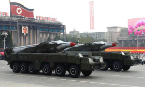 North Korea has moved Musudon (BM25) ballistic missiles to a launch site at the east coast, from where it could launch such missiles on a test flight that could fly over Japan.