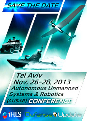 Autonomous, Unmanned Systems & Robotics - International Conference and Exhibition - November 26-28, Israel