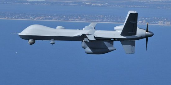 General Atomics' Guardian is a marinized verstion of the MQ-9 Reaper, designed for maritime and border patrol missions. Photo: General Atomics