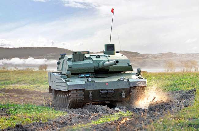 Otokar Altay Main Battle Tank