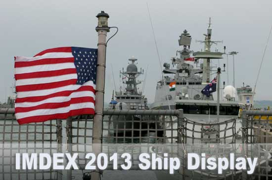 International navies are gathered at Changi Naval Base in Singapore for the bi-annual IMDEX show. Photo: Tamir Eshel, Defense-Update