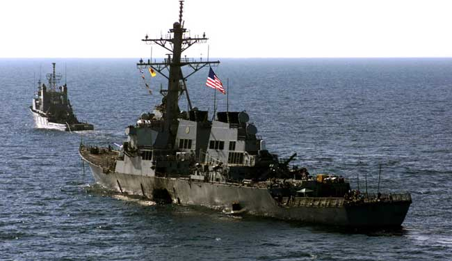 The attack on USS Cole in the year 2000 proved the vulnerability of naval vessels to asymmetric threats. In the case of the Cole it was small rubber boats, but the danger from RPGs and guided missiles is also significant, particularly to small boats patrolling coastlines, littorals and riverine. Photo: US Navy