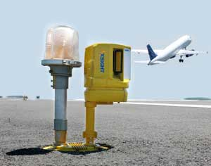 Xsight Systems' FODetect sensor comprises a compact short-range radar and EO imaging system, providing automatic detection and inspection of foreign objects that appear on the runway. Such objects can be parts separated from aircraft on takeoff or landing, or other debris left from passing cars, winds, birds etc. Photo: Xsight Systems