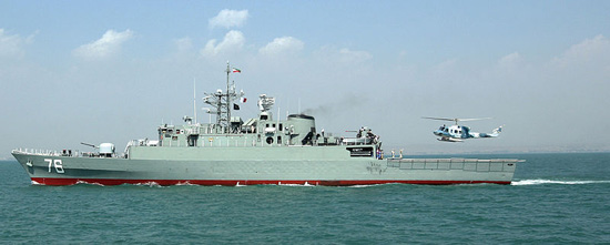 The first Jamaran 2 frigate will soon join the Iranian Caspian Fleet.