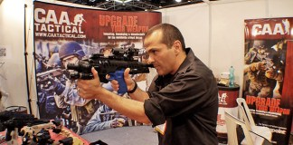 the versatile RONI, turning an ordinary pistol in few seconds, into an effective, versatile weapon system.