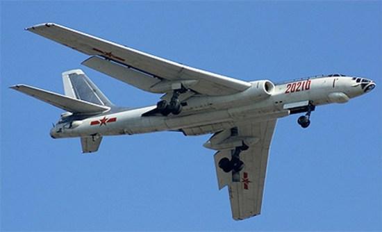 H6K In flight. Internet photo