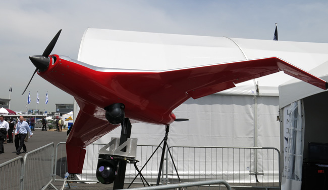 A surveillance UAS designed by SI Schweitzer for a variety of industrial, geographical and infrastructure monitoring missions.
