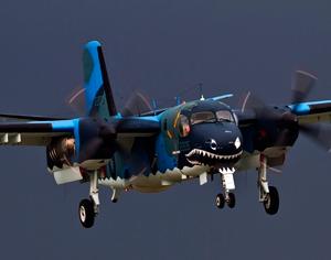 S2T Tracker 2205 1st Aviation Group ROCN. Photo: Mark Rourke via Flickr