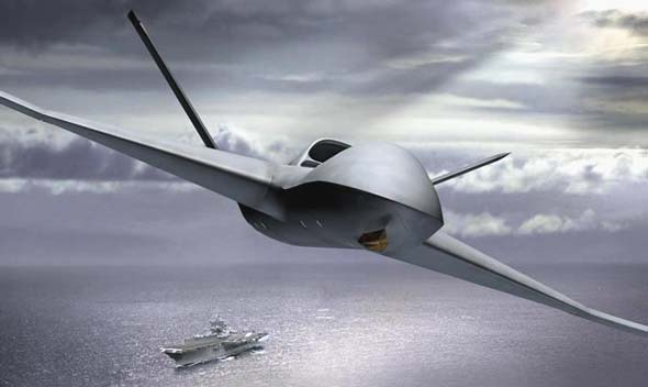 General Atomics' proposed UCLASS is the 'Sea Avenger', based on the company's Predator C (Avenger). This platform is designed to perform high-speed, multi-mission persistent ISR and precision, time-sensitive strike missions over land or sea. Image: General Atomics