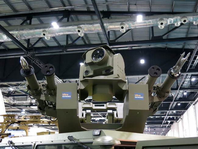 Rapidranger from Thales employs a multi-mission weapon station mounting four weapon launchers. These can deploy Starstreak missiles, LMM or Brimstones.