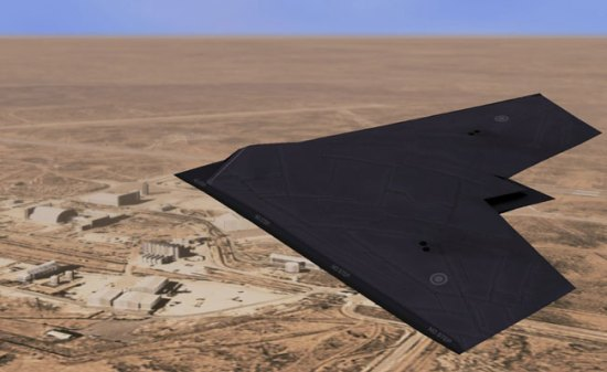 An artist concept of the BAE Systems' Taranis unmanned combat aerial system (UCAS) technology demonstrator in flight. The actual aircraft has recently been flown on its maiden flight in Australia. Image: BAE Systems