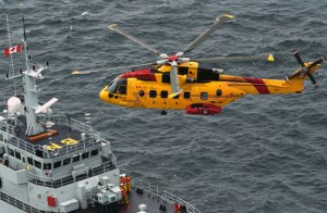 The CH149 Cormorant variant of the AW101 is operated by the 103 SAR, and 413 and 442 transport squadrons of the Royal Canadian Air Force. Photo: AgustaWestland