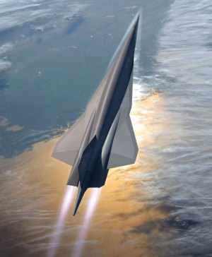 The Skunk Works SR-72 design – a hypersonic aircraft developed to execute Intelligence, Surveillance and Reconnaissance and strike missions at speeds up to Mach 6. Photo: Lockheed Martin