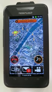 TeSquad - a new LTE mission Critical smartphone from Thales.