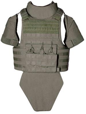 The new Alpha Elite body armor. Photo: Point Blank