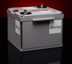 Drop-in 6T Li-ion battery from Navitas Systems. Photo: Navitas Systems