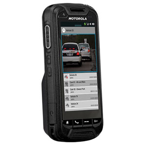 The LEX 700 'Mission Critical handheld' from Motorola Slutions
