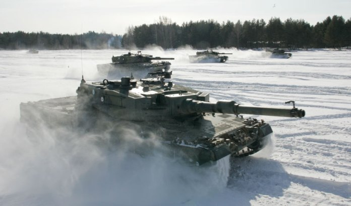 The Dutch MBTs will gradually replace the Leopard 2A4 tanks operating with the Finnish Army since 2003. Photo: Finnish MOD