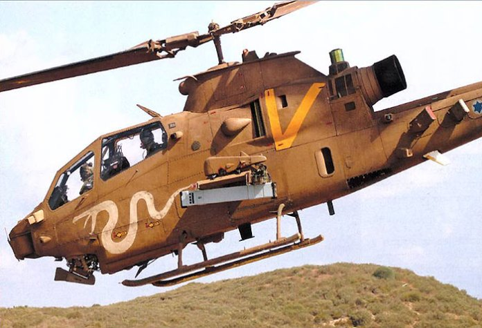 RAFAEL has integrated the SPIKE NLOS on several heliborne platforms. A recent addition was the integration of the lighter SPIKE LR version on light helicopters. Photo: RAFAEL