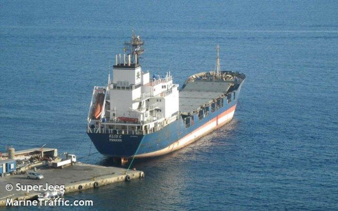 The KLOS-C seen at one of its recent port visits. Photo: Super Jeeg, Marinetraffic.com