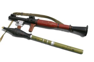 RPG-7, launcher and rocket