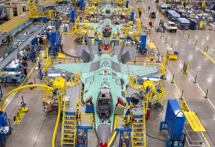 F-35 industry team to invest $170 million to reduce the JSF production cost