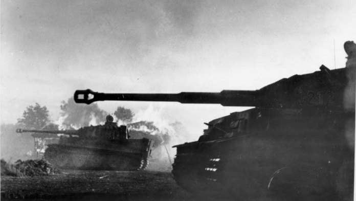 German Tiger tanks in the Eastern Front, July 1943. Photo: Bundesarchiv