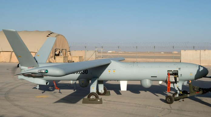 The Ministry of Defence has announced that the Army's next generation of Unmanned Air System (UAS), Watchkeeper, is now fully operational in Afghanistan. Photo: MOD, Crown Copyright