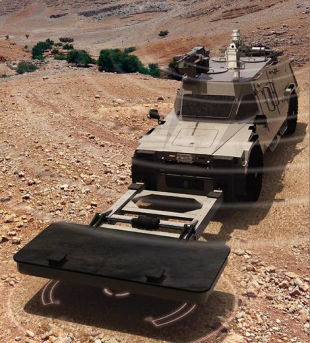 The combination of multiple sensors and integrated management makes CIMS a highly effective mine and IED detection system. ELTA's CEO Nissim Hadas said.