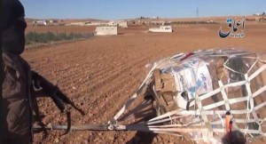 close proximity to enemy forces caused some deliveries to reach IS troops instead of the besieged Kurds.