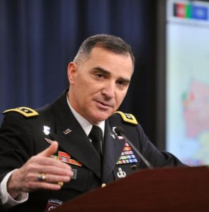 General Curtis Scaparrotti, Commander, U.S. Forces in South Korea.