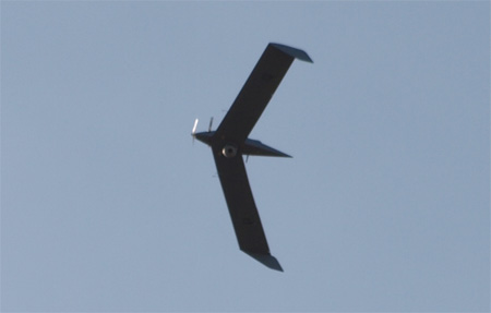 IAI's Birdeye 400 micro drone will provide live video feed from its Micro-POP payload. Photo: Noam Eshel, Defense-Update