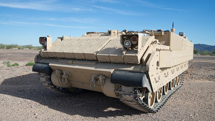 The Bradley based Armored Multi-Purpose Vehicle (AMPV) will replace the M-113s in US Army service. Photo: BAE Systems
