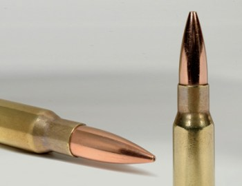 7.62 mm 175 Grain 'Long Range match' ammo for snipers - effective for shooting up to 880 Yards. Photo: IMI