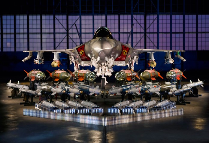 JPO: F-35 weapon testing complete for scheduled certification