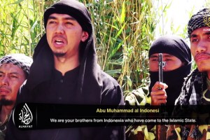 Abu Muhamad al Indonesi appeared in a recent ISIS video.