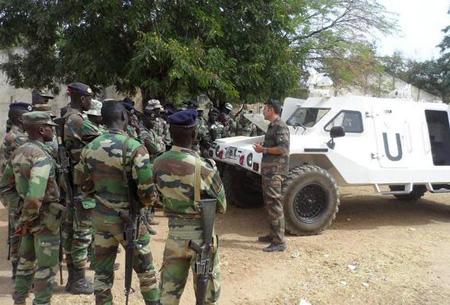 Two Senegalese army platoons equipped with their new RAM MK3 armored vehicles have recently completed training with the French Army, preparing to support UN missions in the Ivory Coast.