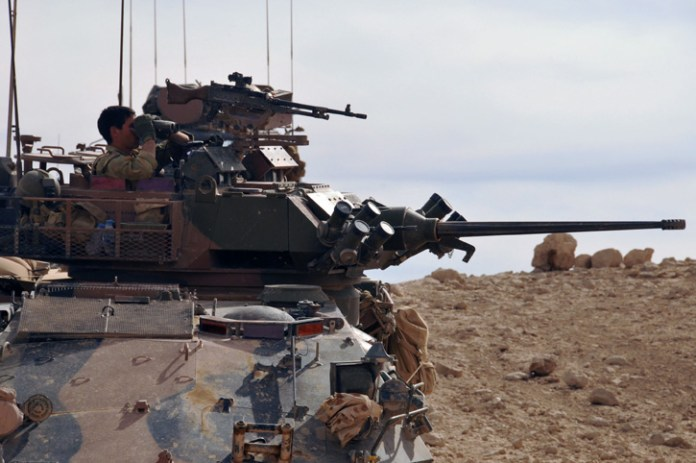 The current ASLAV has been upgraded to maintain  its combat capabilities but lacks the weight, power and  electronic infrastructure necessary for further modernization. Photo: Australian MOD
