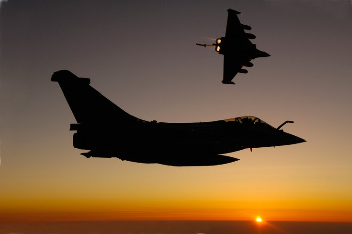 The Rafale jet fighters will soon replace MiG-21s and -27s soon to be withdrawn from service with the Indian Air Force.  Photo: Dassault Aviation