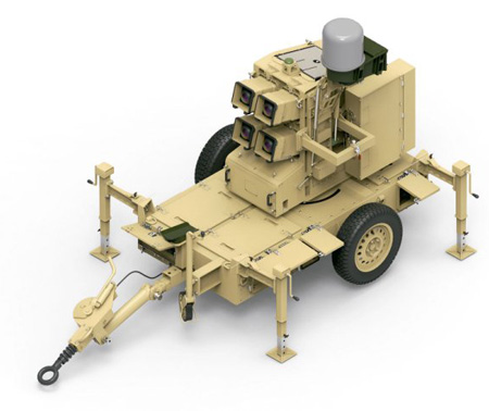 The new version doubles the missile load of the previous trailer-based version operated by a NATO customer, and improves some of the system's target acquisition and support elements which were already integrated into the vehicle-mounted version of the system, developed for South Korea. Photo: RAFAEL